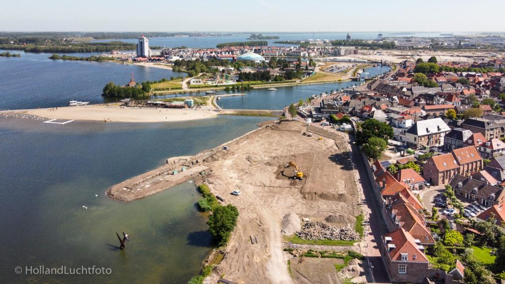 Aanleg promenade Harderwijk